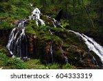 Yenrlinsky Waterfall  Mountain...