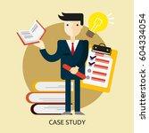 case study conceptual design | Shutterstock .eps vector #604334054