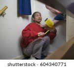 photo portraying the abuse of... | Shutterstock . vector #604340771
