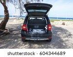 nahariya israel 03.09.2017 car... | Shutterstock . vector #604344689