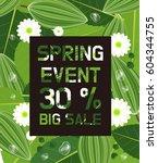 spring event | Shutterstock .eps vector #604344755