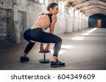 full body portrait of the... | Shutterstock . vector #604349609