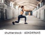 full body portrait of the... | Shutterstock . vector #604349645