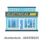 modern flat commercial business ... | Shutterstock .eps vector #604358324