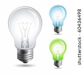 set realistic vector...   Shutterstock .eps vector #60436498