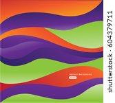 mixing fruit abstract texture... | Shutterstock .eps vector #604379711