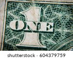 old one dollar | Shutterstock . vector #604379759