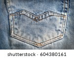jeans fabric | Shutterstock . vector #604380161