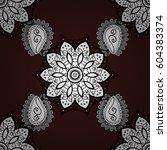 classic seamless pattern.... | Shutterstock . vector #604383374