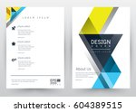 cover design vector template... | Shutterstock .eps vector #604389515