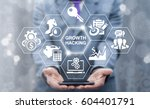 growth hacking concept. growing ... | Shutterstock . vector #604401791