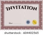 vector illustration of retro... | Shutterstock .eps vector #604402565