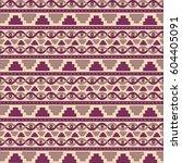 mesopotamia ornament tribal... | Shutterstock .eps vector #604405091
