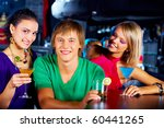 portrait of two girls with... | Shutterstock . vector #60441265