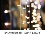 Small photo of Light with blur light background