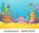 vector background with an... | Shutterstock .eps vector #604414241
