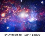 galaxy   elements of this image ... | Shutterstock . vector #604415009