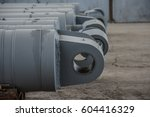 hydraulic cylinders | Shutterstock . vector #604416329