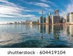 Toronto City Skyline And...