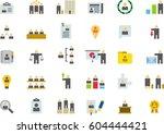 business  management   human... | Shutterstock .eps vector #604444421