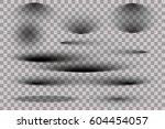 set of shadows   Shutterstock .eps vector #604454057
