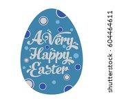easter egg | Shutterstock .eps vector #604464611