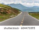highway landscape | Shutterstock . vector #604473395