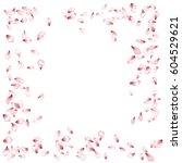 spring blossom isolated...   Shutterstock .eps vector #604529621