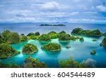 Pianemo Islands  Blue Lagoon...