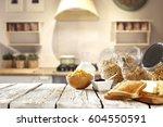 breakfast time  | Shutterstock . vector #604550591
