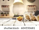 breakfast time  | Shutterstock . vector #604550681