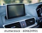 interior view of a car ... | Shutterstock . vector #604624901