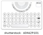 modern keyboard design....