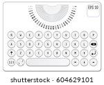 modern keyboard design....