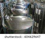 cape wine vats | Shutterstock . vector #604629647