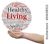 concept or conceptual healthy... | Shutterstock . vector #604638521
