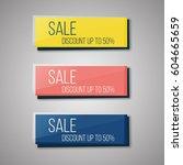 set of web buttons for website...   Shutterstock .eps vector #604665659