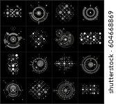 set of modular bauhaus vector... | Shutterstock .eps vector #604668869
