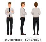 vector illustration of three...   Shutterstock .eps vector #604678877