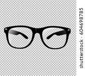 glasses | Shutterstock .eps vector #604698785