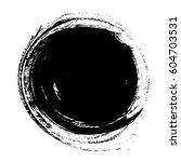 vector circle grunge background | Shutterstock .eps vector #604703531
