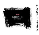 vector grunge background | Shutterstock .eps vector #604704221