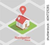 minimalistic illustration on... | Shutterstock .eps vector #604725281