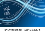 colored abstract background... | Shutterstock .eps vector #604733375