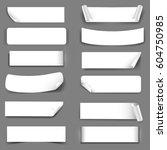 paper label with gradient mesh  ... | Shutterstock .eps vector #604750985