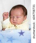 baby sleeping | Shutterstock . vector #604758731