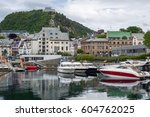 recreational motor boats and... | Shutterstock . vector #604762025