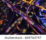 infinity intersection  an... | Shutterstock . vector #604763747