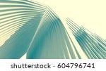architecture 3d illustration | Shutterstock . vector #604796741