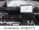professional car mechanic... | Shutterstock . vector #604835771